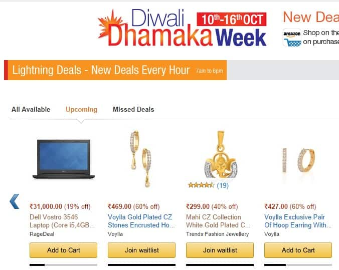 Diwali dhamaka week day 4 women 39 s jewellery and for Check online shopping website