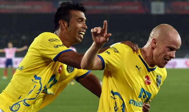Iain Hume's strike earns Kerala Blasters FC first points in ISL 2014 with 1-1 draw against Atletico de Kolkata