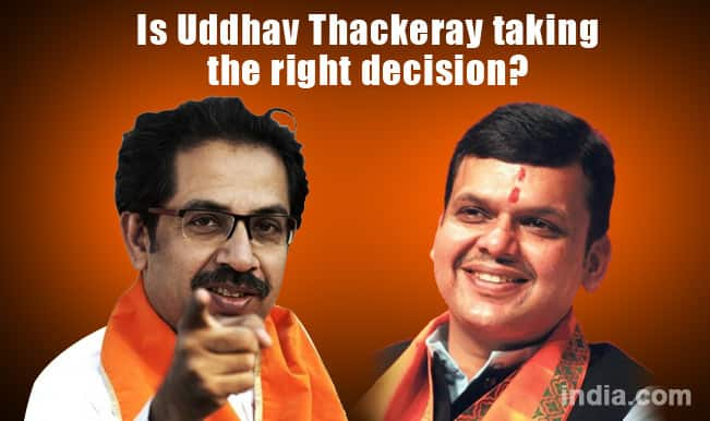 BJP-Shiv Sena alliance: Is Uddhav Thackeray taking the right decision?