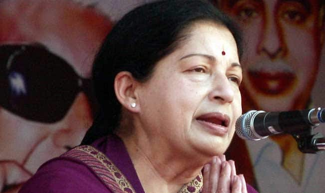 Five arrested for posters pasting supporting J Jayalalithaa's conviction