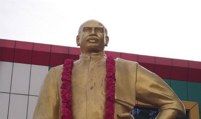 Former Tamil Nadu Chief Minister Kamaraj remembered