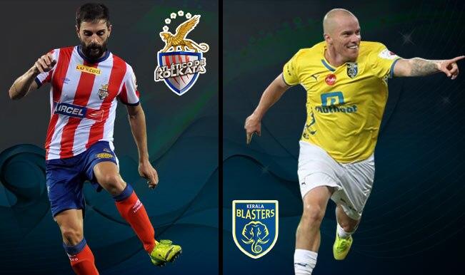 ISL 2014 Live Score Update of Atletico de Kolkata vs Kerala Blasters FC Football Match: Full-Time ATK 1-1 KBFC
