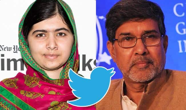 India's Kailash Satyarthi & Pakistan's Malala Yousafzai share Nobel Peace Prize: Twitter Reactions