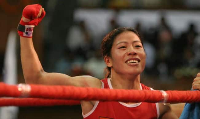 mc mary kom 2017-3-8 five girls live in this room, students at the mc (mangte chungneijang) mary kom boxing academy  ask akham kom where mary gets her fearlessness,.