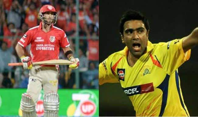 Kings XI Punjab vs Chennai Super Kings, CLT20 2014: Glenn Maxwell and Ravichandran Ashwin renew rivalries