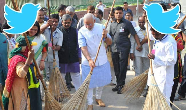 #MyIdeaofSwachhBharat: Twitterati supports Narendra Modi, tweets on cleanliness