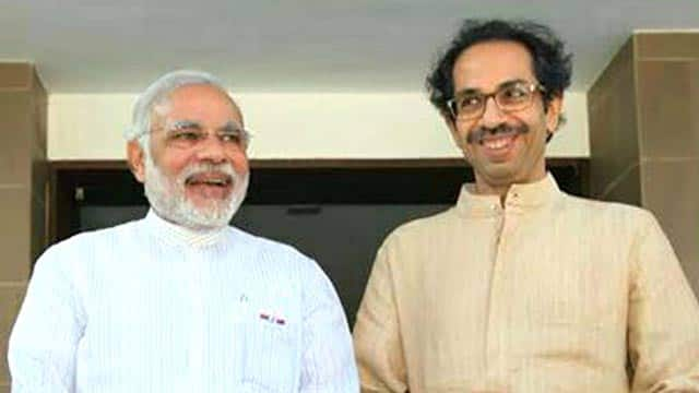 "Shiv Sena president Uddhav Thackeray accuses Bhartiya Janata Party of ""backstabbing"" but says he respects Narendra Modi"