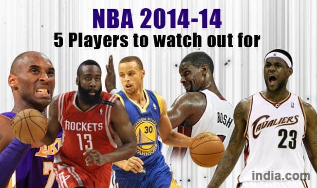 NBA 2014-15: Top 5 Players to watch out for this season
