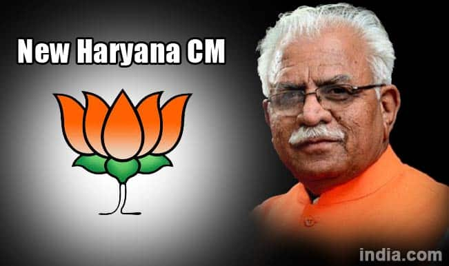 Manohar Lal Khattar to be new Haryana chief minister; BJP ends deadlock
