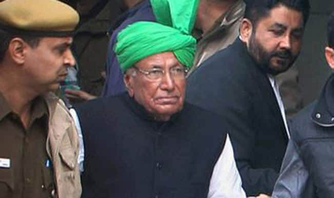 Om Prakash Chautala surrenders at Tihar jail