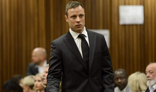 Oscar Pistorius handed five year sentence for culpable homicide of his girlfriend Reeva Steenkamp