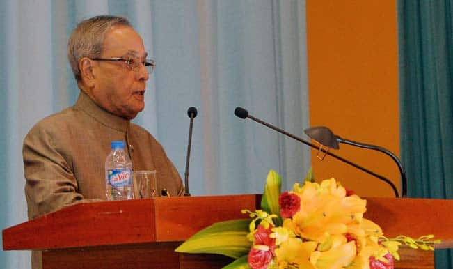 Pranab Mukherjee greets nation on Eid-ul-Azha