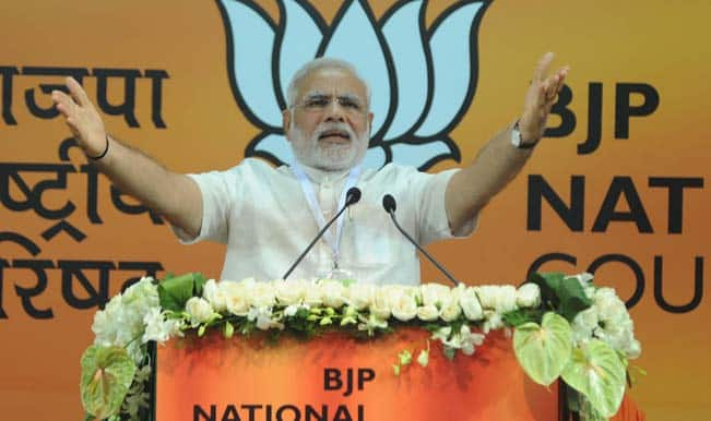Narendra Modi slams dynastic politics in Haryana