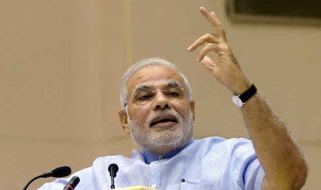 Narendra Modi lauds ISRO for launch of navigation satellite IRNSS 1C