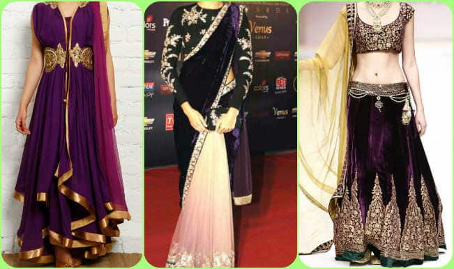 Navratri 2016: Day 9 Color Purple, top 3 styling tips to flaunt the royal princess in you!
