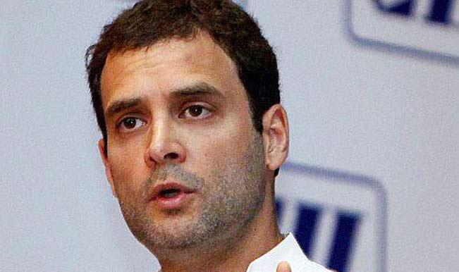 Rahul Gandhi attends last ritual of former Congress MLA