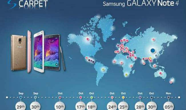 Samsung Galaxy Note 4 to launch in India on October 10