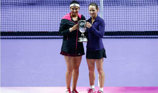 Sania Mirza-Cara Black win WTA Tour Finals 2014 in Singapore