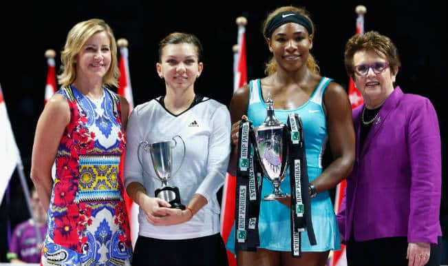 WTA Tour Finals 2014 Singapore: Serena Williams beats Simona Halep to defend title