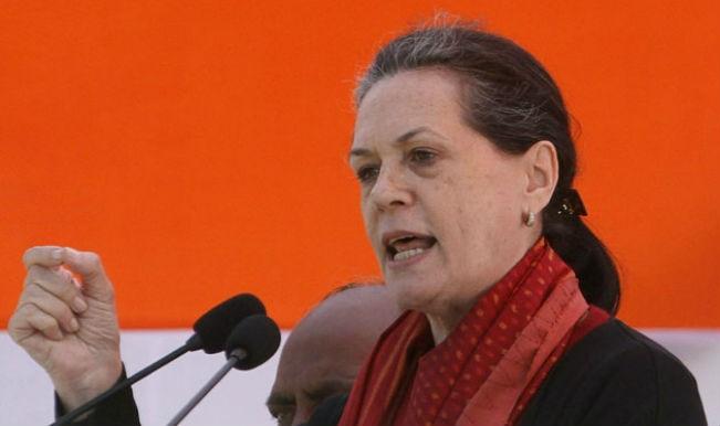 """Sonia Gandhi: Bharatiya Janata Party- Shiv Sena wearing """"mask of development"""""""