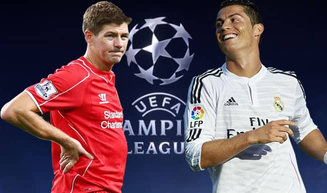 Liverpool vs Real Madrid Live Score Updates, UEFA Champions League 2014-15  Group B