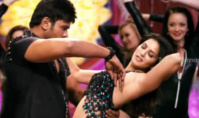 Current Theega song Sunny Sunny: Sunny Leone sizzles in a lungi!