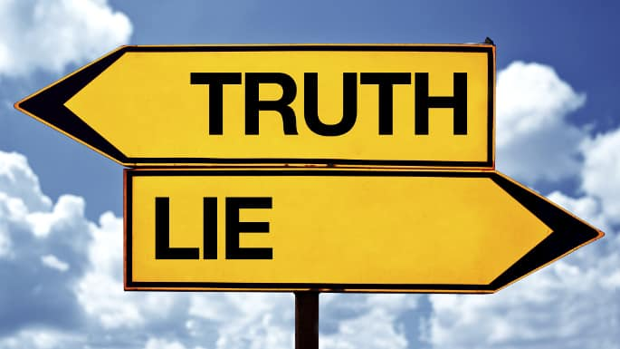 Essay on truth and lies