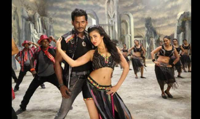 Poojai movie review: The film should have been more than just the hero flexing his muscles and fighting