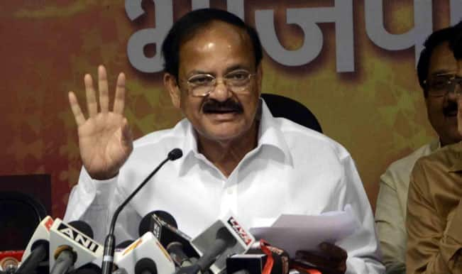 Venkaiah Naidu: Confident of Bharatiya Janata Party coming to power in Maharashtra