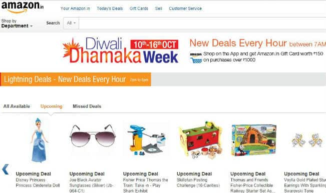 Amazon.in Diwali Dhamaka Week Day 5: Kids games and toys on great discounts