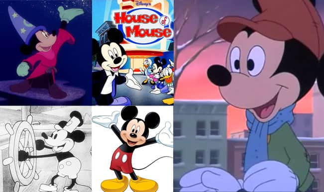 Top 5 Cartoon Characters : Mickey mouse day top funny cartoons of the adorable character