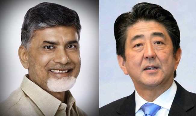 Japan PM Shinzo Abe assures Chandrababu Naidu of help in building Andhra Pradesh capital
