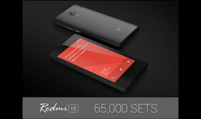 Xiaomi Redmi 1S: 65,000 Redmi 1S units sold out on Flipkart in the 11th flash sale