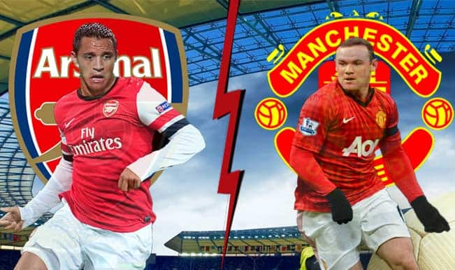 English Premier League: Fan war in Arsenal vs Manchester United match at Emirates Stadium