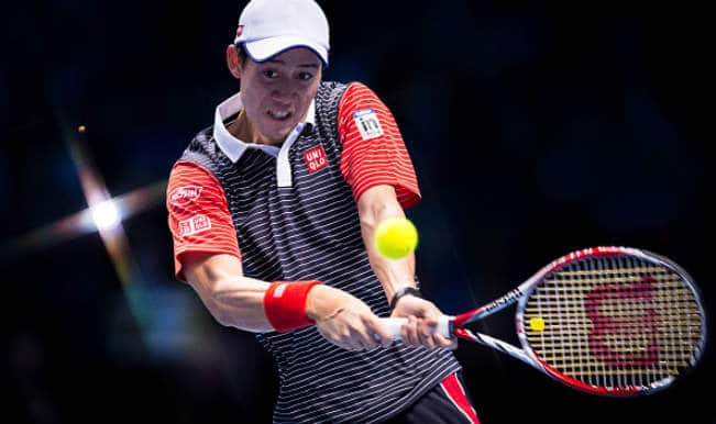 ATP World Tour Finals: Kei Nishikori beats David Ferrer to stay in hunt for semis berth
