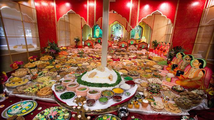 BAYVP Hosts Diwali Festivities for Devotees