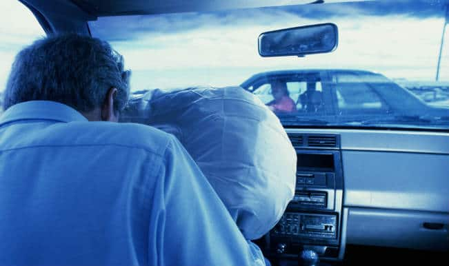 Air bags to be basic compulsory feature in all cars from 2015