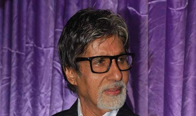 Amitabh Bachchan denies being ill, neck brace part of costume