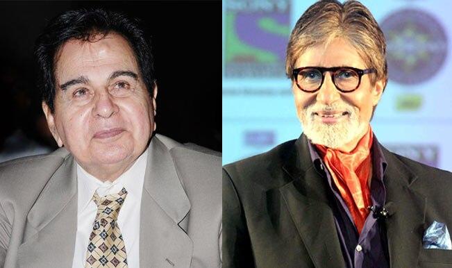 Amitabh Bachchan: All's well with Dilip Kumar