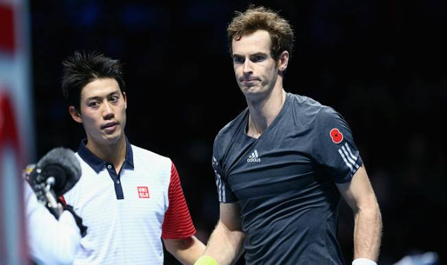ATP World Tour Finals 2014: Kei Nishikori beats Andy Murray in straight sets on Day 1