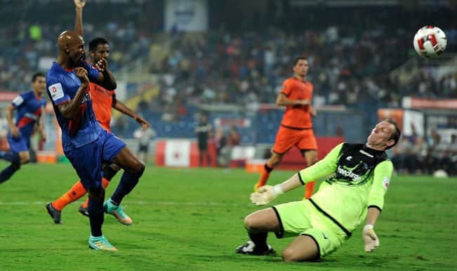 Nicolas Anelka helps Mumbai City FC register narrow 1-0 win over Delhi Dynamos FC
