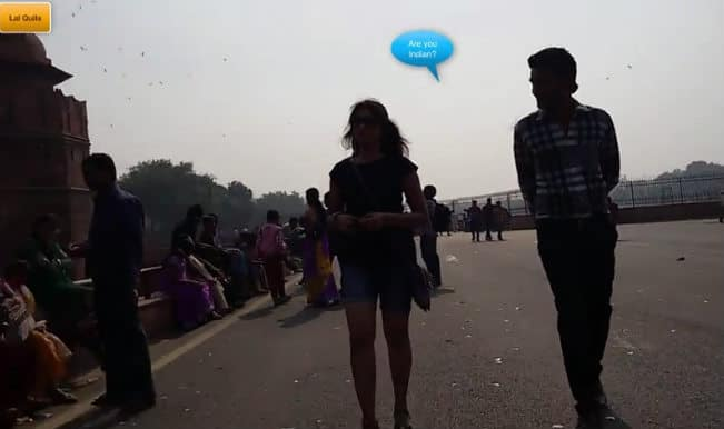 Delhi will not SHOCK you with its reactions towards a girl walking in shorts for 10 hours!