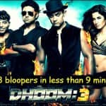 Dhoom 3 bloopers: 138 mistakes in Mr Perfectionist Aamir Khan starrer film? Watch full video