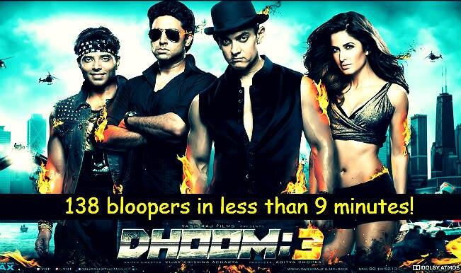 Dhoom 3 bloopers: 138 mistakes in Mr Perfectionist Aamir Khan starrer film? Watch full video