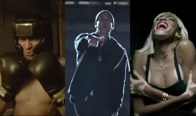 Eminem's new song Guts Over Fear featuring Sia: Watch video