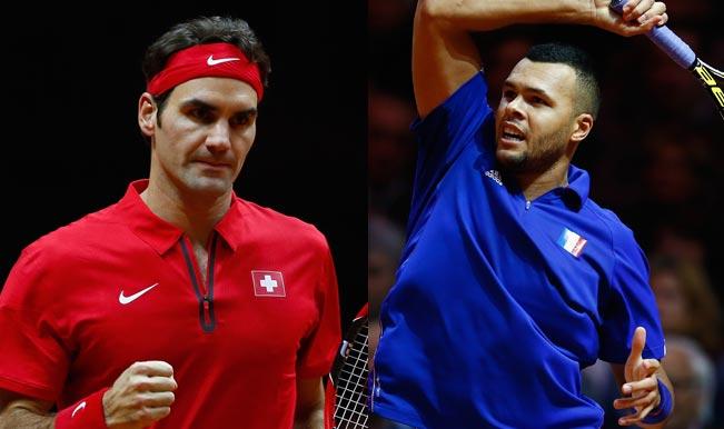 Roger Federer vs Jo-Wilfried Tsonga Match 4 Live Streaming: Get Live Telecast of France vs Switzerland Davis Cup Final 2014