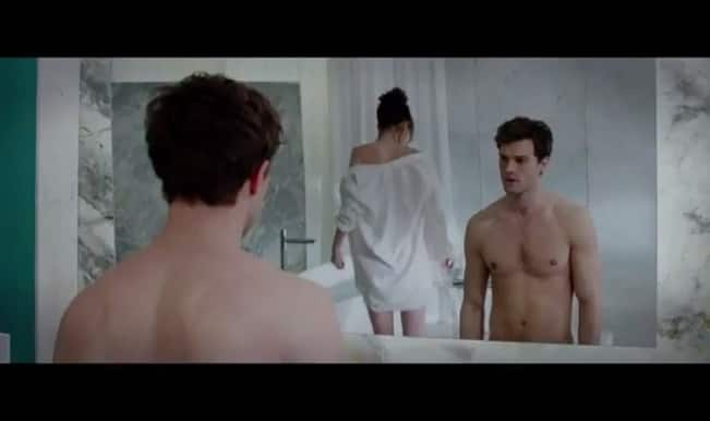 HOT New Fifty Shades of Grey full trailer: Jamie Dornan and Dakota Johnson give you goosebumps with their BDSM act