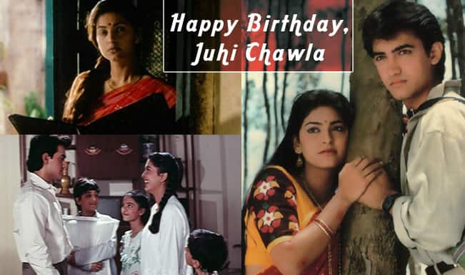 Juhi Chawla birthday special: Top 3 films of the Bollywood actress that showcase her versatility