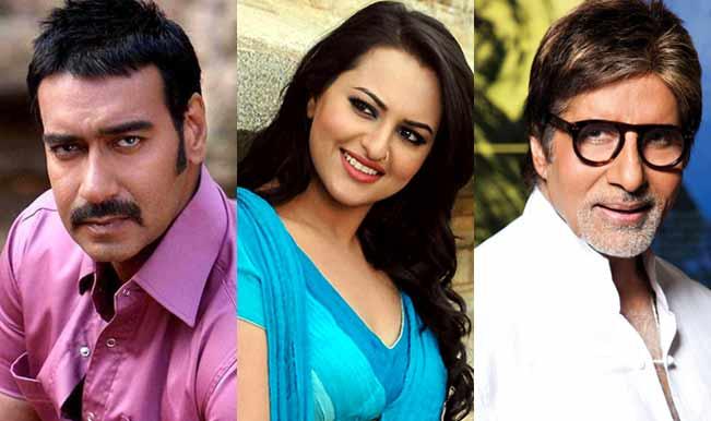 Amitabh Bachchan, Sonakshi Sinha and Ajay Devgn endorse NCFF