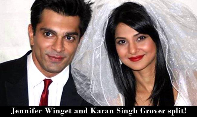 Jennifer Winget and Karan Singh Grover together no more!